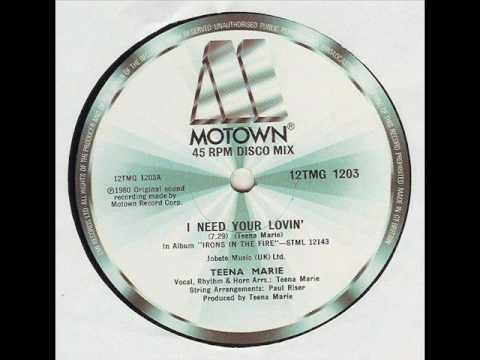 Teena Marie - Need Your Lovin'