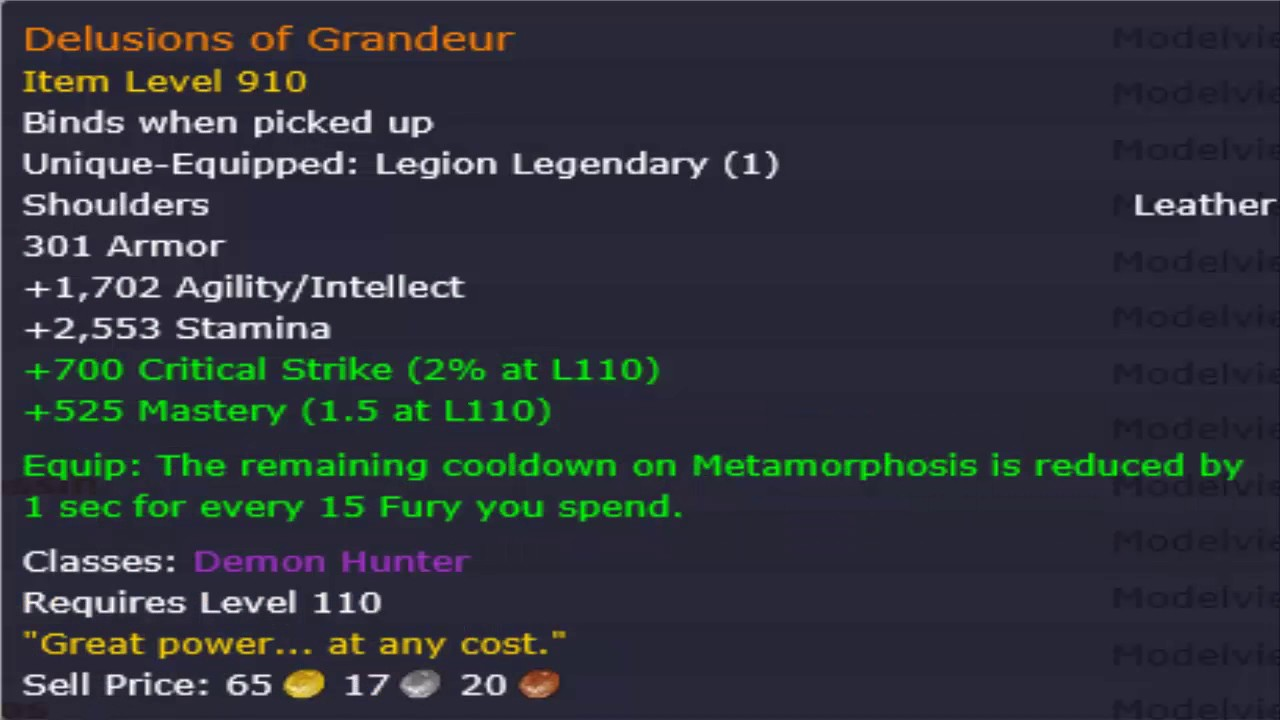 how to get legendary items wow