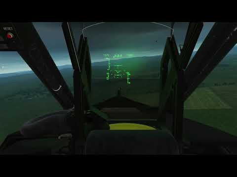 Flying High Bird With RotorScout! DCS Ka-50 Black Shark Route Recon