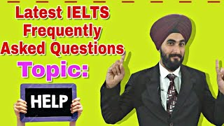 Ielts most common topic helping others and questions like do you to help other many more by ramandeep singh with detailed explaination in punjabi fo...