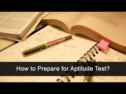 How to Prepare for Aptitude Test ?