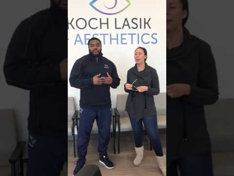 Former New England Football Player Patrick Pass and his wife Monique Discuss LASIK