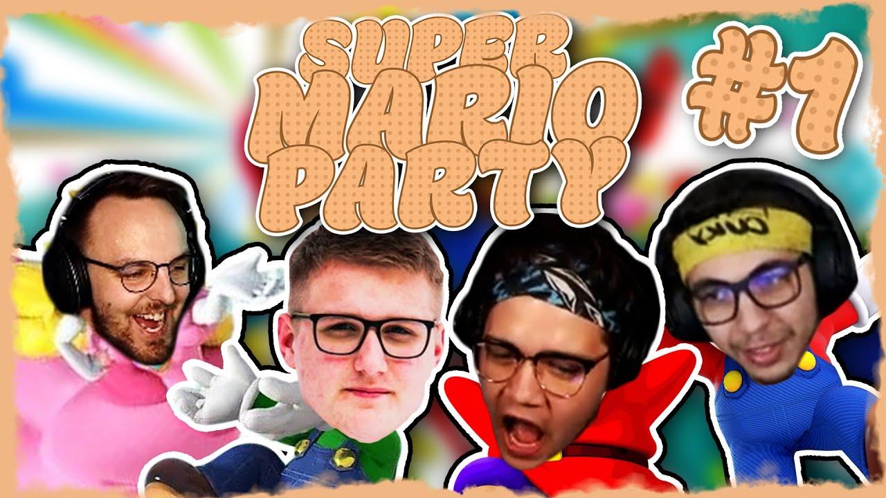 SUPER MARIO PARTY #1 - JE TOHLE NEJLEPŠÍ PARTY HRA?  - KeX Crew /w @MarweX