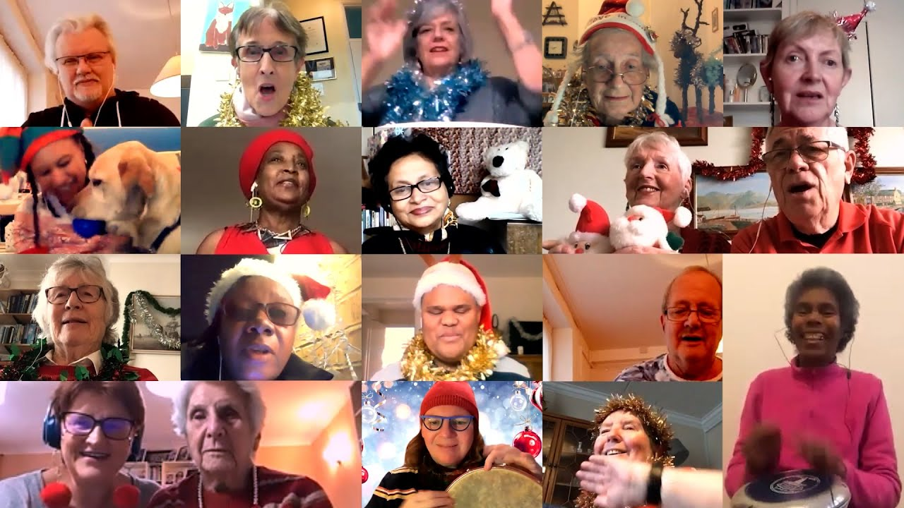 The VIP singers at Christmas!