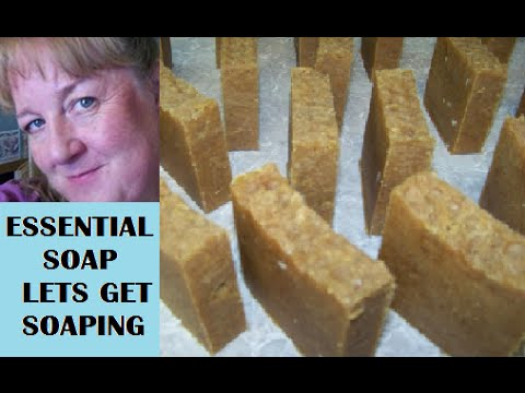 How to make Lush Bee/Bear Porridge Soap with Recipe