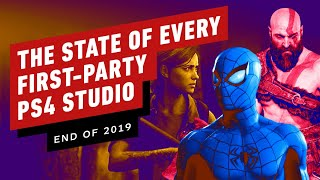 The State of Every PlayStation First-Party Developer (Late 2019 Update)