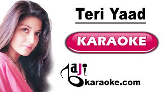 Teri yaad - Video Karaoke - Nazia Hassan - by Baji Karaoke