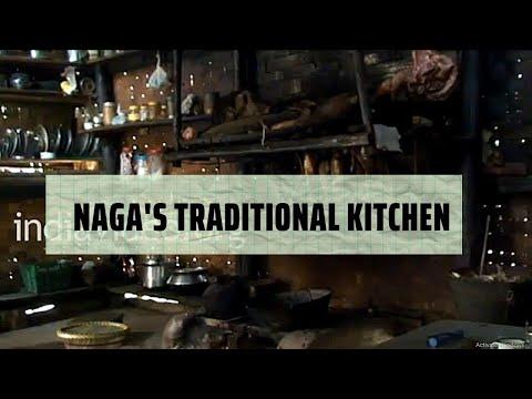 Naga Kitchen in Jalukie, Nagaland