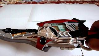 This is an Engine Blade and Gaia Memory Engine of KAmen Rider. 仮面...