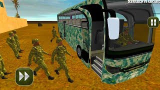army bus driving 2017 military coach transporter new bus unlocked android gameplay