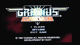 [PSP] Gradius Collection - Gradius Gaiden