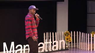 Marketing environmental hip hop and culinary wellness | DJ Cavem & Alkemia Earth | TEDxManhattan