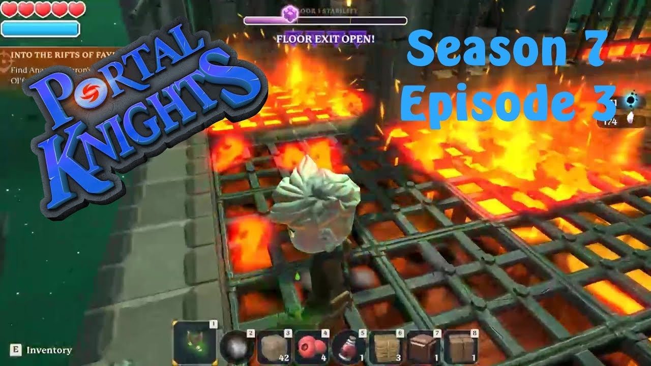 Portal Knights S7 Ep  3 `Low Rift Level 2 & 3!!` PC PS4 XBOX Gameplay Tips  & Tricks