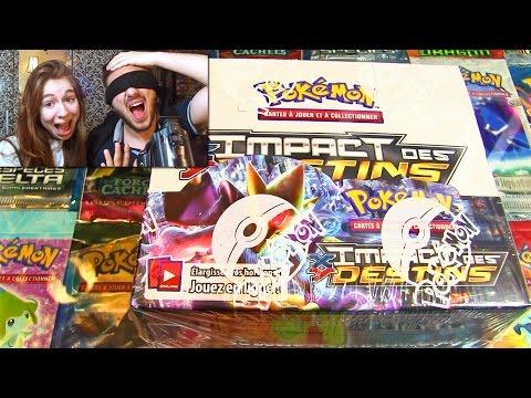 Ouverture d'un Display Pokémon A L'AVEUGLE en Entier ! XY10 IMPACT DES DESTINS !