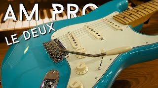 Another better Strat? Give me a break! Fender AM Pro II Strat Review