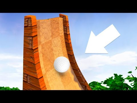 WORLD'S BIGGEST GOLF RAMP EVER! (Golf It)