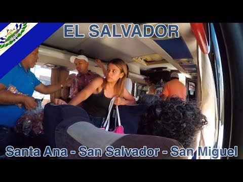 Cheapest and best way to travel @ El Salvador