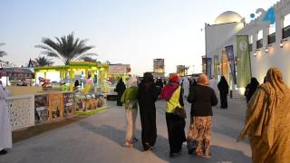 مهرجان الشيخ زايد 2016: أجنحة الدول المليئة بالألوان والفرح