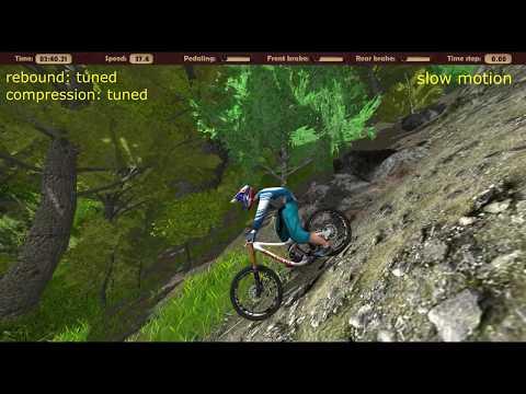 mountain bike simulation game