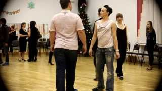Как танцевать кадриль  How to dance Quadrille steps ТСК Измайлово ЦО 1811