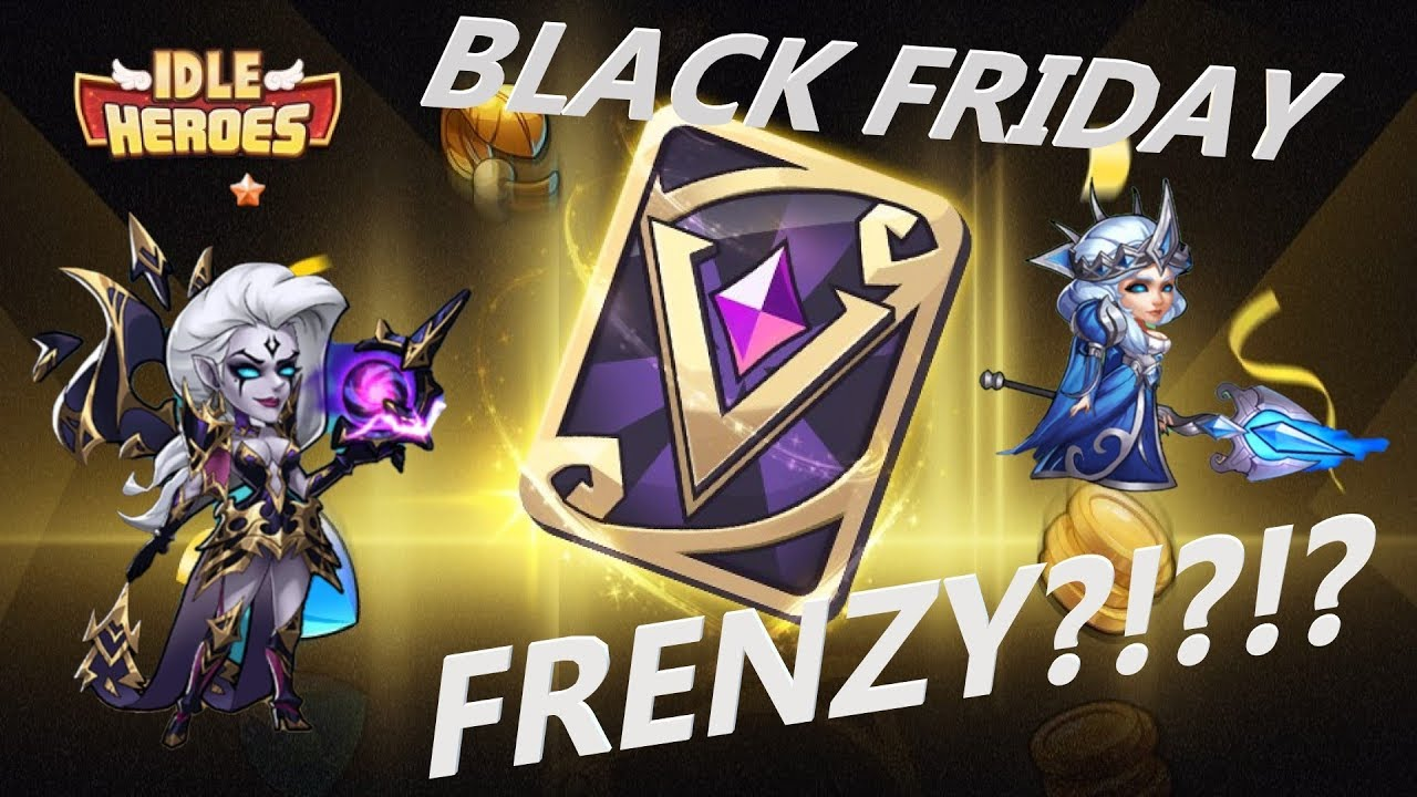 Idle Heroes Server #15: BLACK FRIDAY FRENZY!?!?!