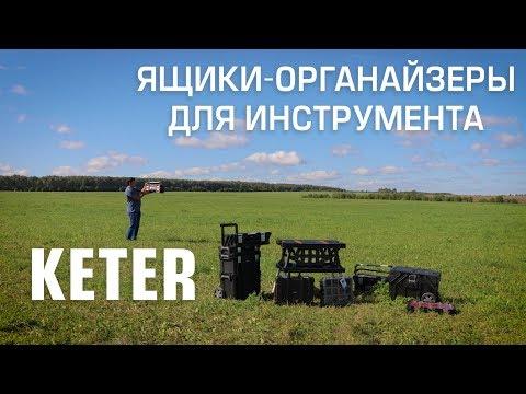 Ящики-органайзеры для инструмента KETER