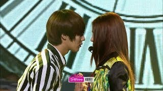 【TVPP】Taemin(SHINee) - Only One (with BOA), 태민(샤이니) - Only One (with 보아) @ Show Music core Live