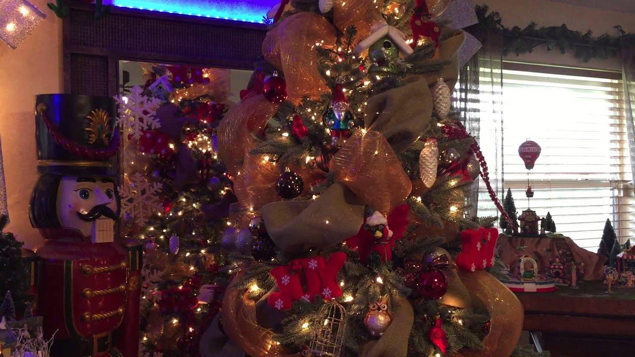 Rotating Christmas Tree 2015 - YouTube