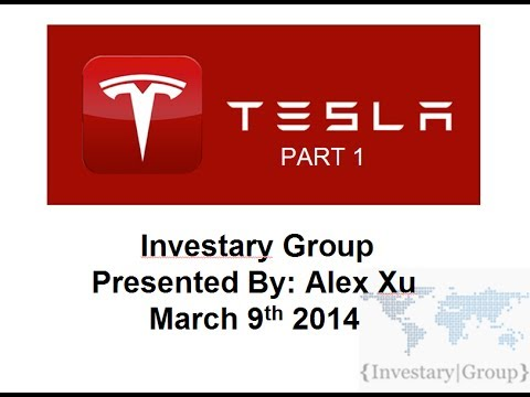 Tesla Motors (TSLA) Year 2 Stock Presentation Part 1