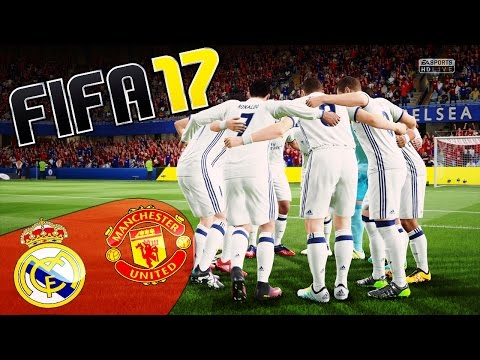 FIFA 17 - REAL MADRID VS MANCHESTER! (GAMEPLAY DEMO) - 동영상