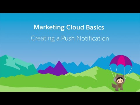MobilePush - Create a Push Notification