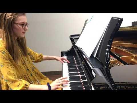 Mattie Recital 2018 Theme from Jurassic Park