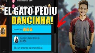 EL GATO ME PEDIU PRA DANÇAR EM LIVE!