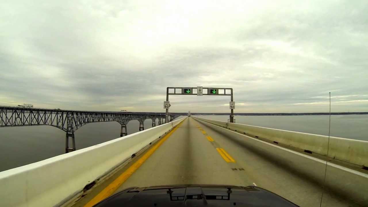 Chesapeake bay bridge escort