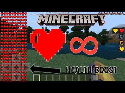 》Minecraft Pe《: So Bekommst Du Unendlich Herzen..!!❤❤
