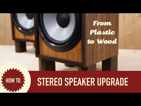 Thumbnail: Rebuilding Sony Stereo Speaker Set | Upcycle Project