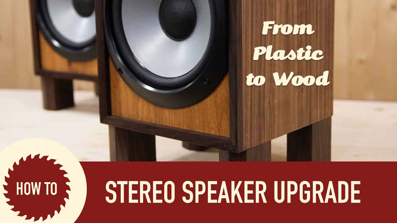 Rebuilding Sony Stereo Speaker Set Upcycle Project Youtube Pin Pa System Setup Diagram On Pinterest