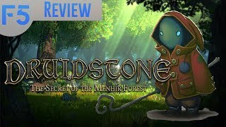 Druidstone Review: A Whimsical Mechanics-First RPG! (Video Game Video Review)
