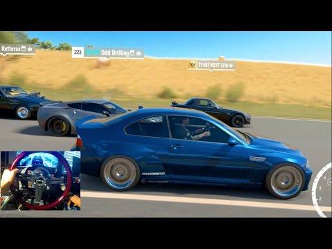 Forza Horizon 3 GoPro Online Drag Pulls BMW 650hp E46 w/Crew