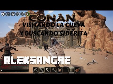 CONAN EXILES - Gameplay en español HD - Entramos en la cueva maldita
