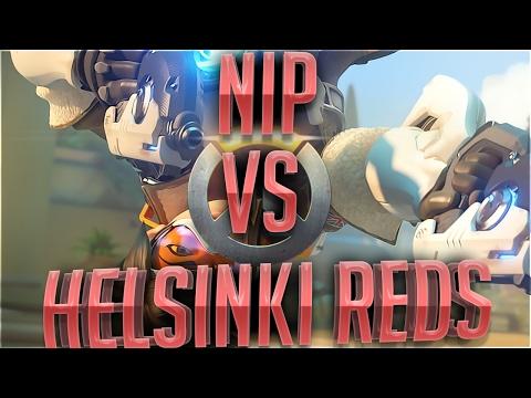 Overwatch NiP VS Helsinki Reds Winter Assembly 2017 Grand Finals map 2