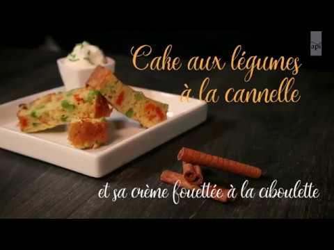 06-Cake aux légumes et à la cannelle