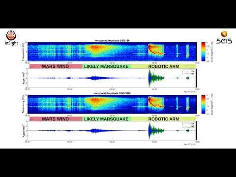 NASA's InSight Lander Detects Quake on Mars