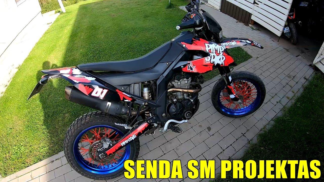 PROJEKTAS DERBI SENDA SM125