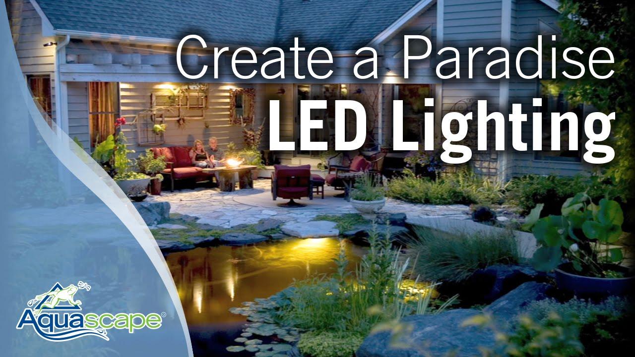 Charmant Create A Paradise   Aquascape LED Lighting   YouTube