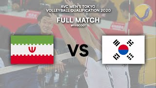 LIVE  IRI - KOR | AVC Men's Tokyo Volleyball Qualification 2020