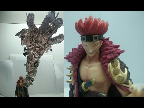 Giant Metal Arm?!?! One Piece Eustass Captain Kid Styling Figure Review with Customize DIY effect