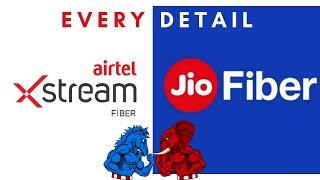Airtel Xstream Fiber Vs Jio Giga Fiber | Every Detail Compared | Best Broadband For You?