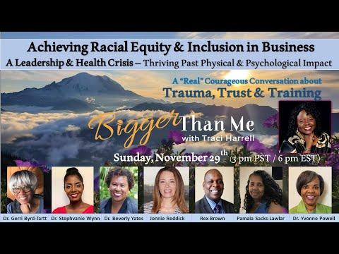 Bigger Than Me 11-29-20 Trauma, Trust & Training (3pm)