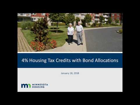 4% Housing Tax Credits with Bond Allocations